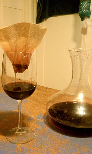 getting cork out of wine