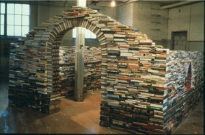 a house made entirely out of books