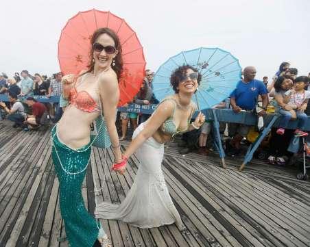 coney island mermaid parade 3
